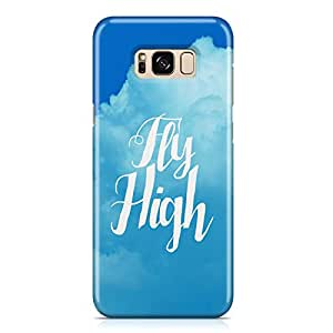 Samsung S8 Case fly high Transparet edges Plastc Aluminium Samsung Samsung S8 Cover Wrap Around