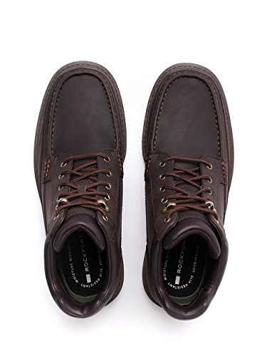 Rockport Redemption Road Moc Toe Hombre Botas Marrón