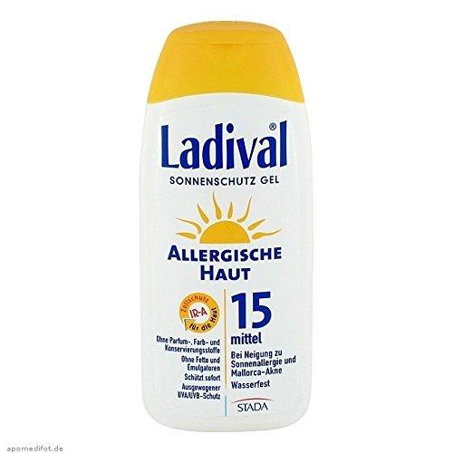 LADIVAL allergische Haut Gel LSF 15, 200 ml