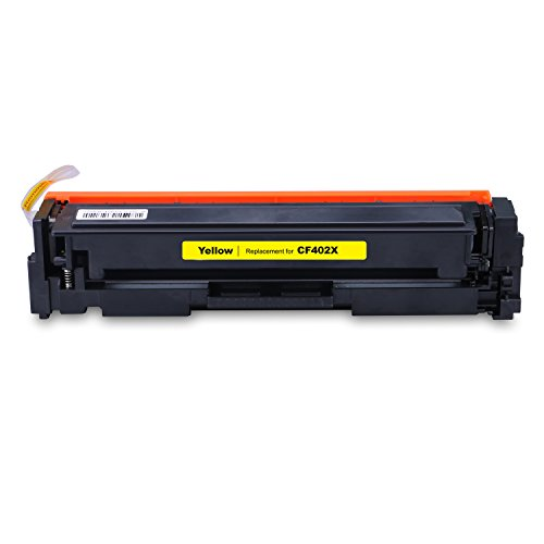 LEMERO Replacement for CF400X CF401X CF402X CF403X Toner Cartridge (201X) for use with Color LaserJet Pro MFP M277dw, M252dw, MFP M277n, M252n, High Yield 4 Pack Photo #5