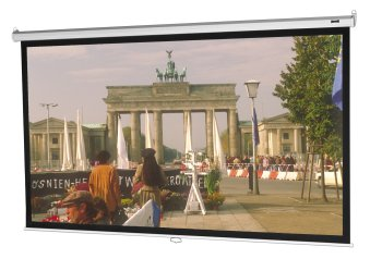 Da-Lite Model B Manual Wall and Ceiling Projection Screen, 70