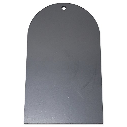 Copper Ridge Outdoors AR500 Target - 3/8 in. Tombstone AR500 Steel Target, 17 H x 10 in. W Laser Cut Hardened Steel, Rifle and Pistol Calibers, Shootsteel Targets, Steel Shooting Targets