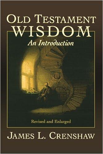 Bücher in Englisch kostenlos herunterladen Old Testament Wisdom: An Introduction PDF ePub