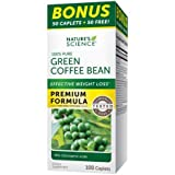 Nature's Science Pills, Green Coffee Bean, 100 Count