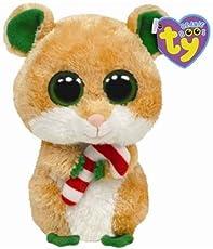 Ty Beanie Boos Candy Cane - Hamster (B005OMYAQE)  46947e3464e
