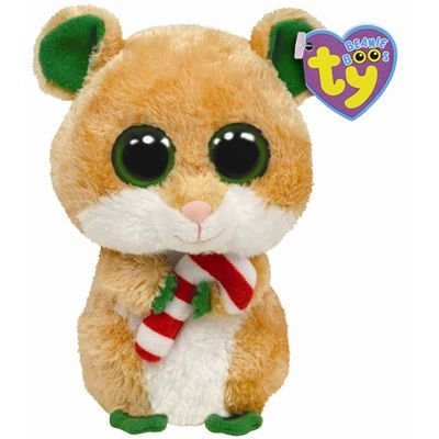 147eb8f3df0 Amazon.com  Ty Beanie Boos Candy Cane - Hamster  Toys   Games