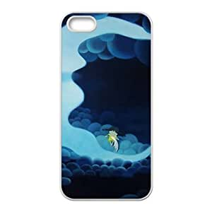 Blue moon lovely angel Phone Case for iPhone 5S(TPU)