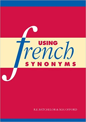 Amazon com: Using French Synonyms (9780521378789): R