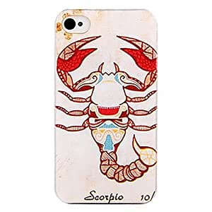 ZL Indian Scorpio Back Case for iPhone 4/4S