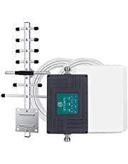 Cell Phone Booster Band 2 4 5 Cellular Signal Booster for Home Signal Repeater - Boost Voice and Data