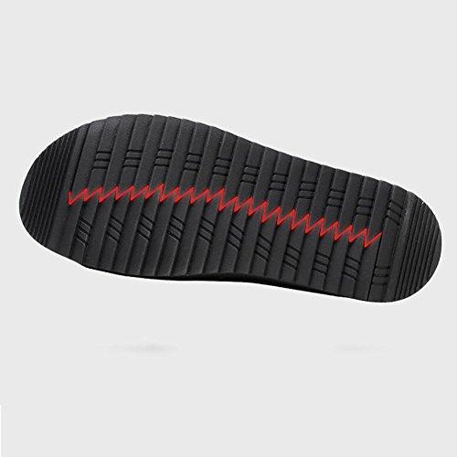Antiscivolo E Estate E Impermeabile amp; New QSYUAN Da Pigre Scarpe Scarpe Black Scarpe Traspirante Casual Beach Pedale Walking 38 Comfort Uomo Wild Peas Indossabile OvU6n