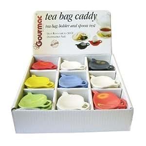 Tea Bag Caddy Counter Display - Case Pack 54 SKU-PAS316029
