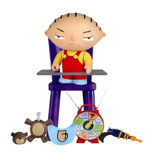 Mezco Toys: Family Guy - Stewie Series 1 Action Figure