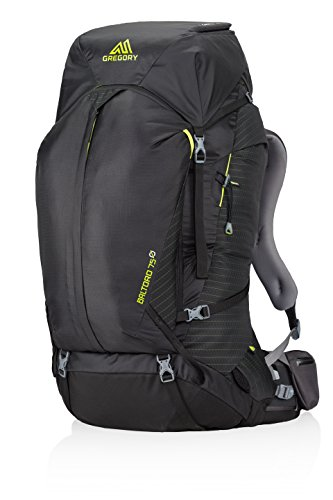 Gregory Mountain Products Baltoro 75 Goal Zero Backpack, Volt Black, Large