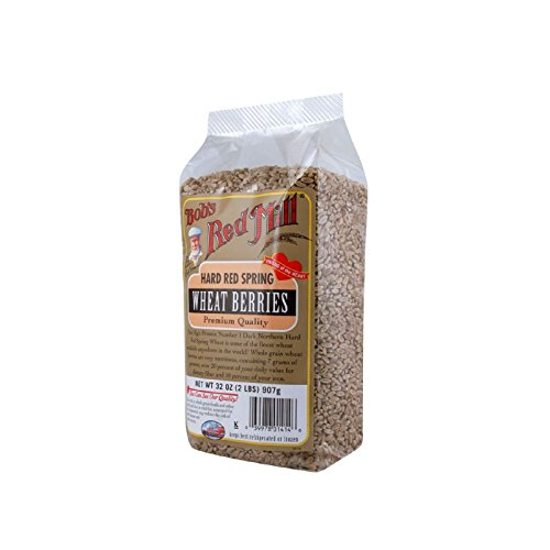 Bob's Red Mill Hard Red Spring Wheat Berries - 32 oz - Case of 4 by Bob's Red Mill