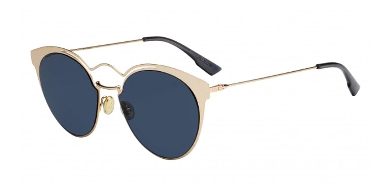 Christian Dior Damen Sonnenbrille Diorsoreal U7 1T7, Gold (Gold Green Marble/Brw Mlkbl Cn), 48