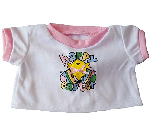 - Happy Easter T-shirt Teddy Bear Clothes Fit 14
