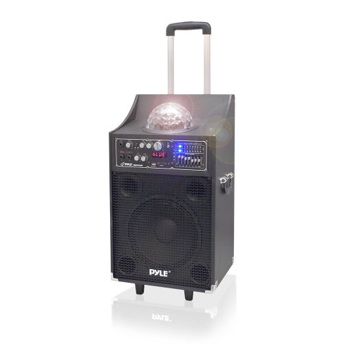 PYLE PSUFM1049A 600-Watt Bluetooth 2-Way PA Speaker System by Pyle