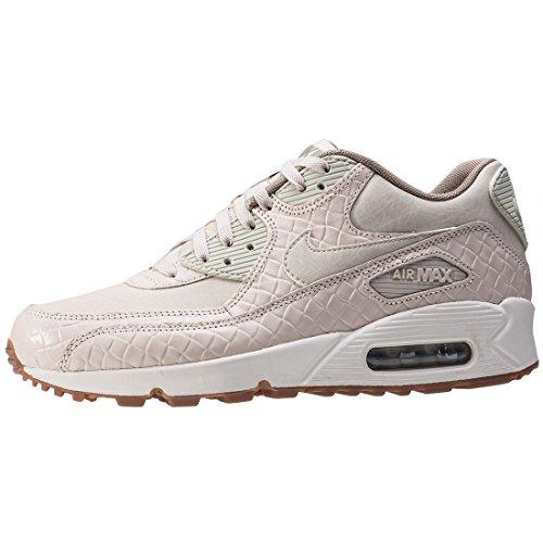 Nike Air Max 90 Premium Sneaker Turnschuhe Schuhe für Damen weizenfarben