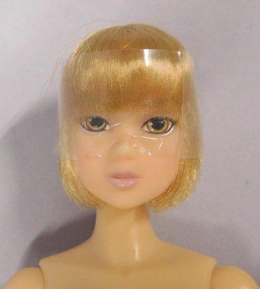 [Sekiguchi momokoDOLL smart tweed Blonde Bob ver New] (Thumbelina Wig)