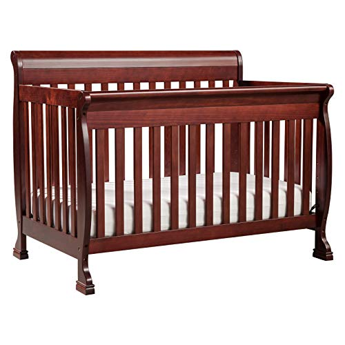 - DaVinci Kalani 4-in-1 Convertible Crib, Rich Cherry