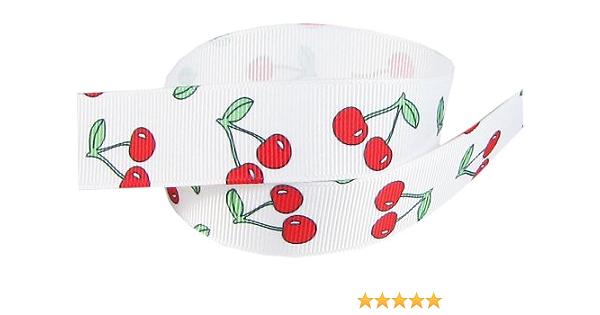 """Dance NEW 7//8/"""" Polka-Dot Grosgrain Ribbon Several Colors Cheer Bows Crafts"""
