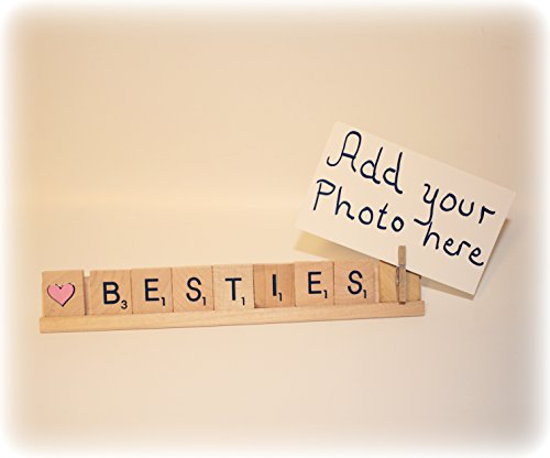 Bestie Photo Holder, Bestie Photo Frame, Bestie Frame, Bestie Gift, Best Friend Gift, Best Friend Frame, Best Friend Photo Holder by Hiding Place Boutique