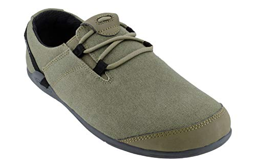 Xero Shoes Hana - Men's Casual Canvas Barefoot-Inspired Shoe - Burnt Olive ()