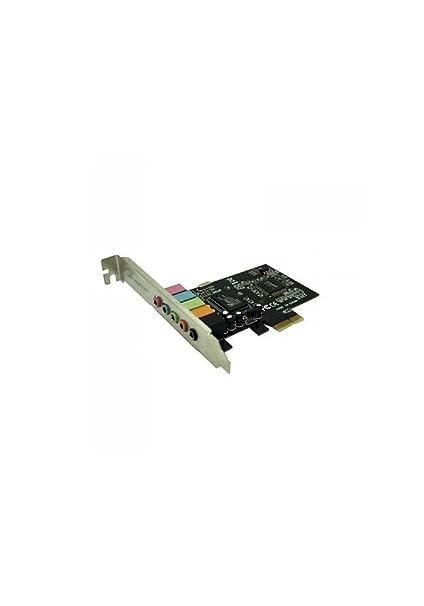 Aqprox PCS71911APPPCIE51 - Tarjeta de Sonido (32 bits, 6 Canales)