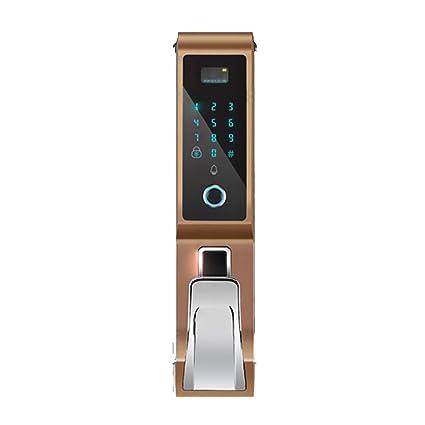Amazon com: OMLTER Touch Screen Smart Fingerprint Door Lock