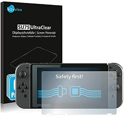 savvies Protector Pantalla Compatible con Nintendo Switch (6 ...