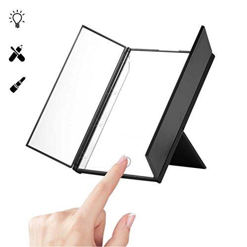 LESHP Portable Tri Fold Unadjustable Magnification