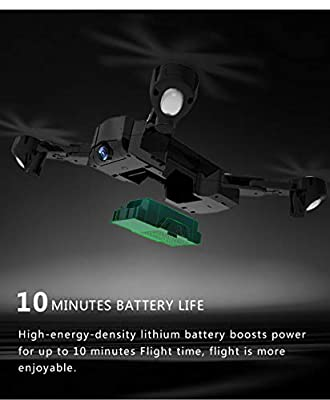 Studyset SG900/SG900-S Foldable Quadcopter 2.4GHz 720P/1080P HD Drone Quadcopter WiFi FPV Drones GPS Fixed Point Helicopter Drone with Camera by Studyset