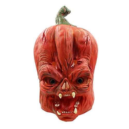 JYSD Partido del Traje de Halloween Partido de latex Mascara asustadiza Calabaza Cabeza Humana Completa MJJ9/29