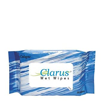 Clarus Wet Wipes 30 Pulls Cologne Amazonin Health Personal Care