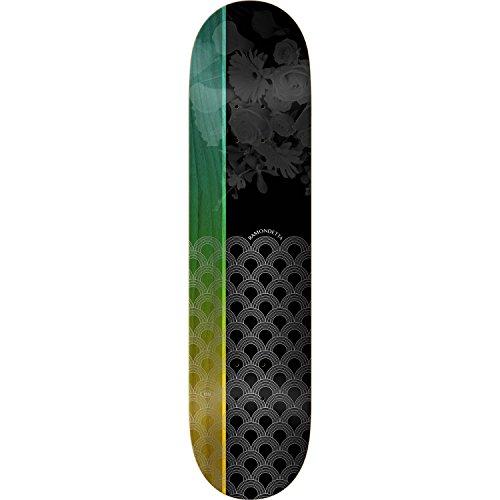 気絶させる凍った印をつけるReal Skateboards Peter Ramondetta収束スケートボードDeck – 8.25