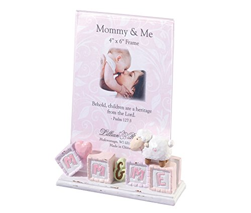 Lillian Rose Mommy and Me Picture Frame, Little Lamb, 4