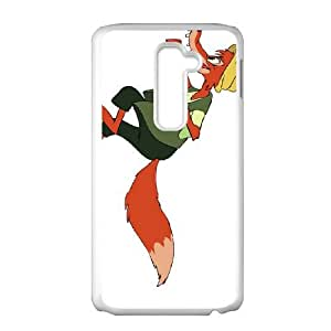 LG G2 Cell Phone Case White Disney Song of the South Character Br'er Fox ayin