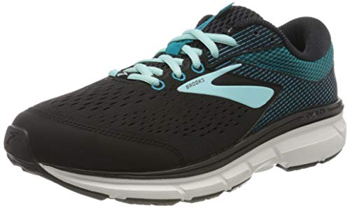 Brooks Womens Dyad 10 - Black/Island/Capri - D - 8.0