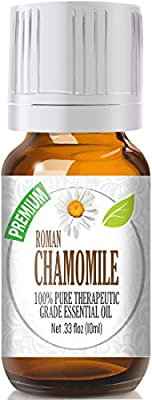 Chamomile (Roman) 100% Pure, Best Therapeutic Grade Essential Oil from Healing Solutions