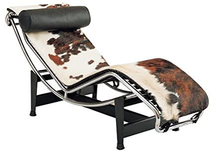Le Corbusier Leather Chaise Lounge LC4   Pony U0026quot;High Qualityu0026quot;