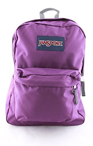JanSport Classic Superbreak Backpack (Vivid Purple)