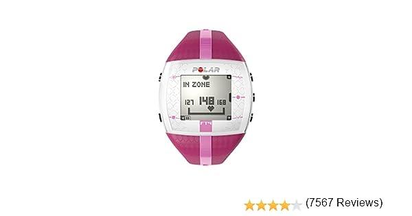 Polar FT4 - Reloj con pulsómetro e indicador de calorías consumidas para fitness y cross-training, color rosa: Amazon.es: Deportes y aire libre