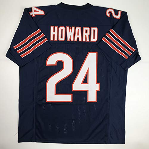 Unsigned Jordan Howard Chicago Blue Custom Stitched Football Jersey Size Men's XL New No Brands/Logos