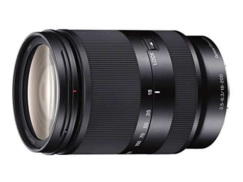 Sony SEL18200LE E 18-200mm F3.5-6.3 OSS LE E-mount Zoom Lens – International Version (No Warranty)