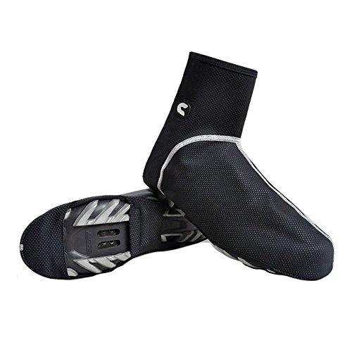 West Biking Radfahren Thermo PE Bike Schuh Cover für Winter Staubfrei, winddichtem Windstopper für Damen und Herren Fahrrad