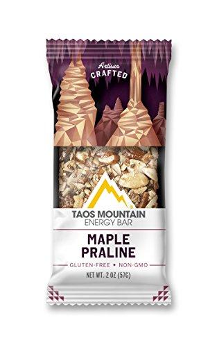 Taos Mountain Energy Bar – Maple Praline (2.0 Ounce, 6 Count)