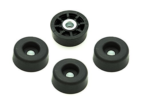 20 Soft Round Rubber Feet - .437 H X 1.062 D - Made in USA