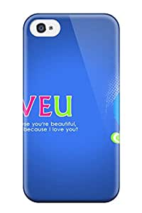 Premium Iphone Cute Loves Case For Iphone 4/4s Eco Friendly Packaging