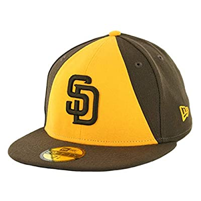 New Era 5950 San Diego Padres 50th Anniversary ALT 2 Fitted Hat (BR) Men's Cap